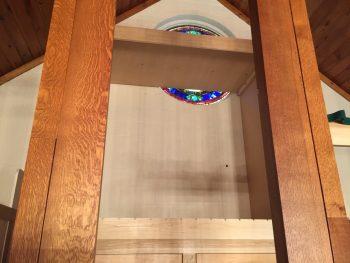 Casework blocks window