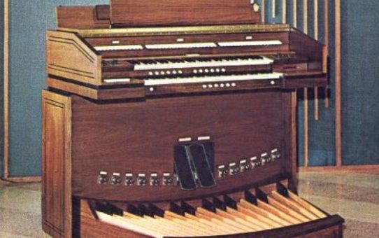 45 Year Old Allen Organ