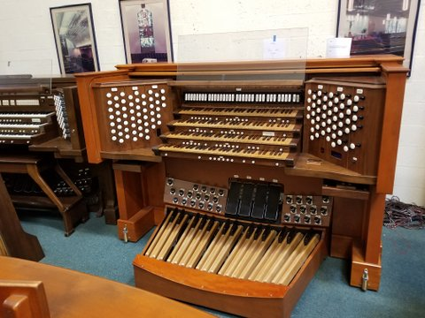 Zimmer Organ Console with Walker Electronics