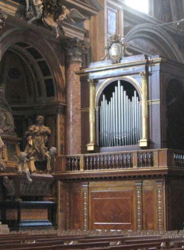 Tamburini & Allen Organs in St. Peter's, Vatican