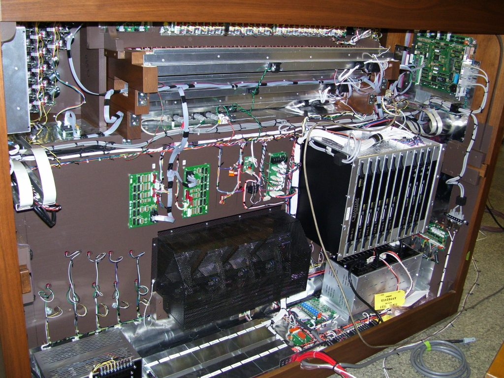 Digital Organ Insides