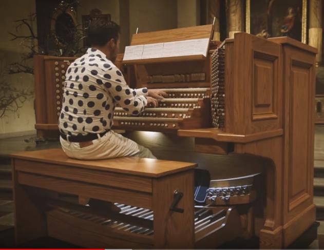 Allen Combination Organ