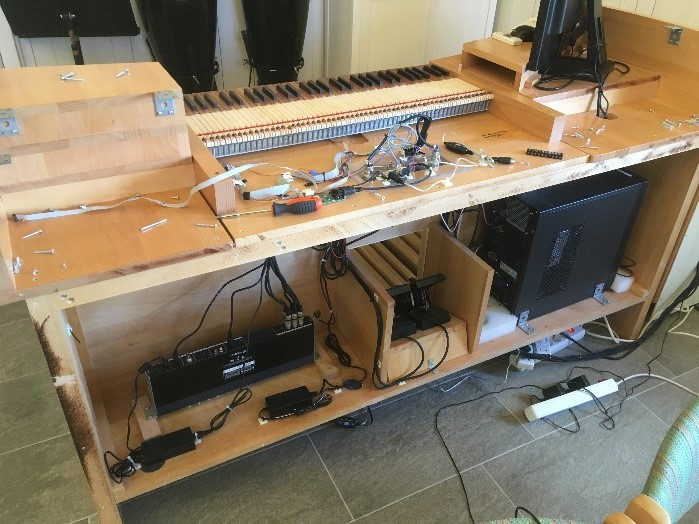 "Console Back-Wiring & ""Knockdown"" Console Construction"
